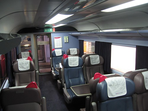 First Great Western First Class Dining seating
