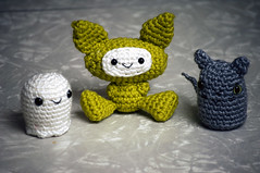 weird group (callie callie jump jump) Tags: cute stuffed crochet plush kawaii amigurumi stuffie