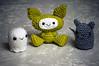 weird group (callie callie jump jump) Tags: cute stuffed crochet plush kawaii amigurumi stuffie