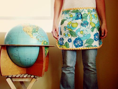 a new apron