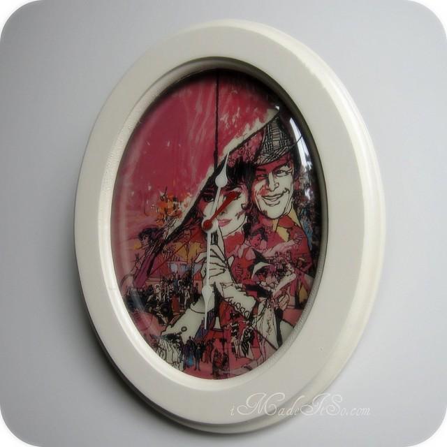 finished audrey hepburn clock
