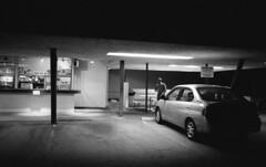Late Night Japanese Eats (airencracken) Tags: blackandwhite film 35mm march jordan 135 arcadia 2010 400iso emulsion arista prolab yashicafxd bentoya airencracken aristapremium400 aristapremium swanlabs