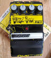 DOD Buzz Box (Terekhova) Tags: distortion effects guitar grunge fx dod pedal fuzz octave bluebox melvins mxr kingbuzzo fx33 fx69