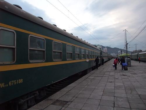 蘭州→敦煌 鉄道
