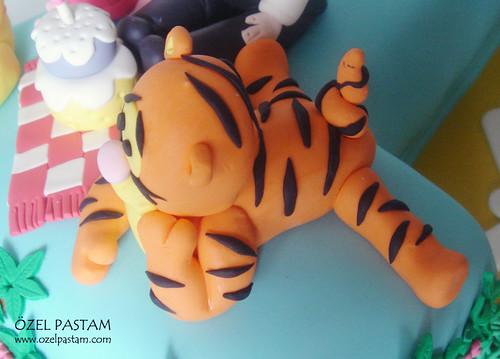 Ali Mert'in Winnie The Pooh ve Arkadaşları Pastası / Winnie the Pooh and Friends Cake