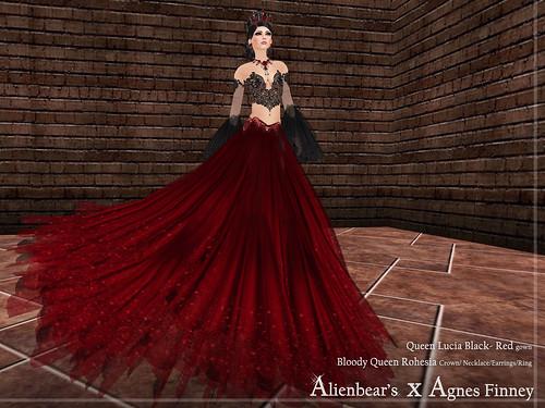 Alienbear's X Agnes Finney halloween 2010