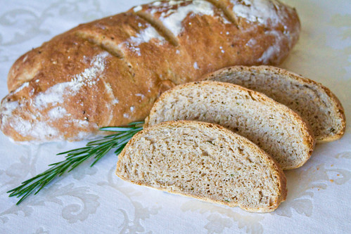 Rosemary Garlic Bread - 6