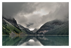 Lake Louise HDR (pollylew) Tags: canada lakelouise hdr