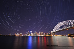 Sydney Star trail - Kirribilli (Matthew's Photography) Tags: point star trail milsons kirribilli