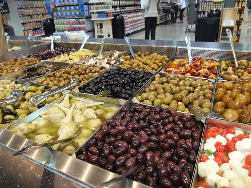 Olive Bar at Giant Eagle Market District Kingsdale