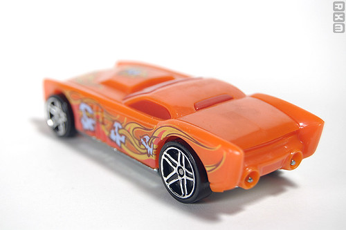 Mattel Hot Wheels - The Gov'ner (2010 Scary Cars 5-pack, Target excl., 9/10)