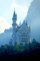 [フリー画像] 建築・建造物, 宮殿・城, ノイシュヴァンシュタイン城, ドイツ, 201010201900
