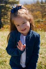 Madeleine at the mountains (Brian Leon of Ottawa) Tags: family autumn portrait madeleine blueridgeparkway faceofportraits