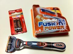 Gillette Fusion 5+1 Power