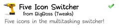 fiveiconswitcher