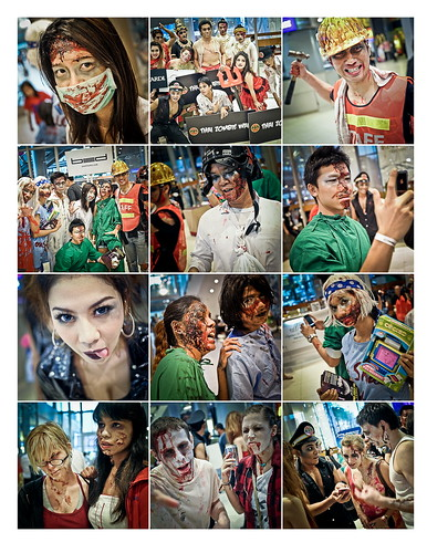 Bangkok 2nd Annual Thai Zombie Walk 16th October 2010 Page 1