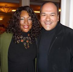 Mary Wilson and Greg Hernandez