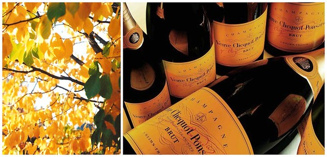 Veuve Clicquot Yellow : The Color of Fall