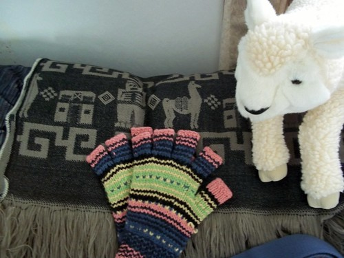 Mittens, Sheep, Shawl