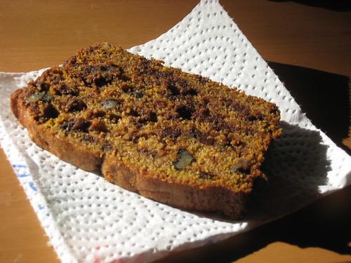Pumpkin Chocolate Chip Pound Cake