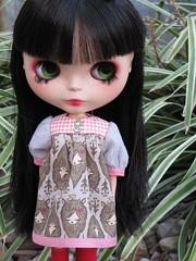 Puff Sleeved Babydoll Dress