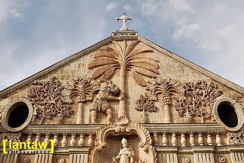 Miagao Church bas-relief 2