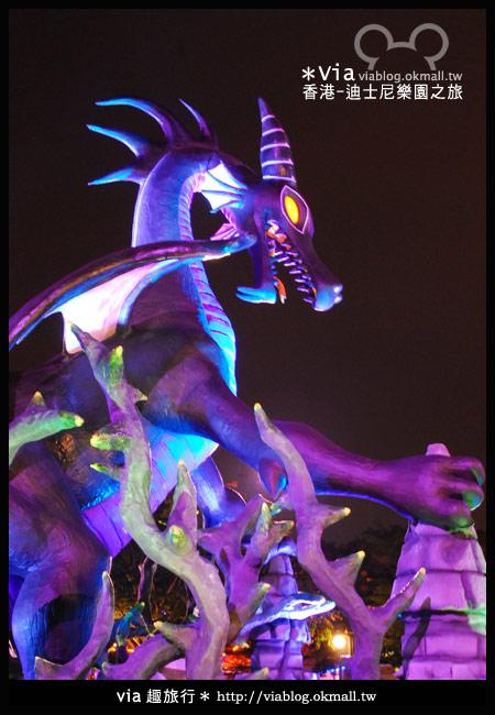 【香港旅遊】跟著via玩香港(2)~迪士尼萬聖節夜間遊行超精彩!23