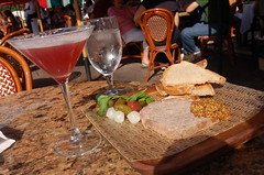 french martini and country pate