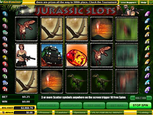 Jurassic Slots slot game online review