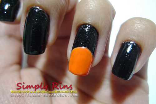 Nail Art Halloween Peeping Pumpkins 03