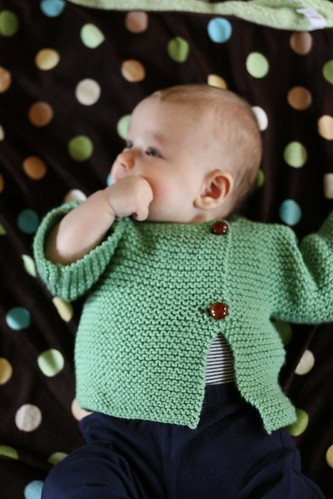 Sideways Garter Stitch Sweater