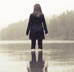 (Ane Lundeby) Tags: water rain fog boots soaked