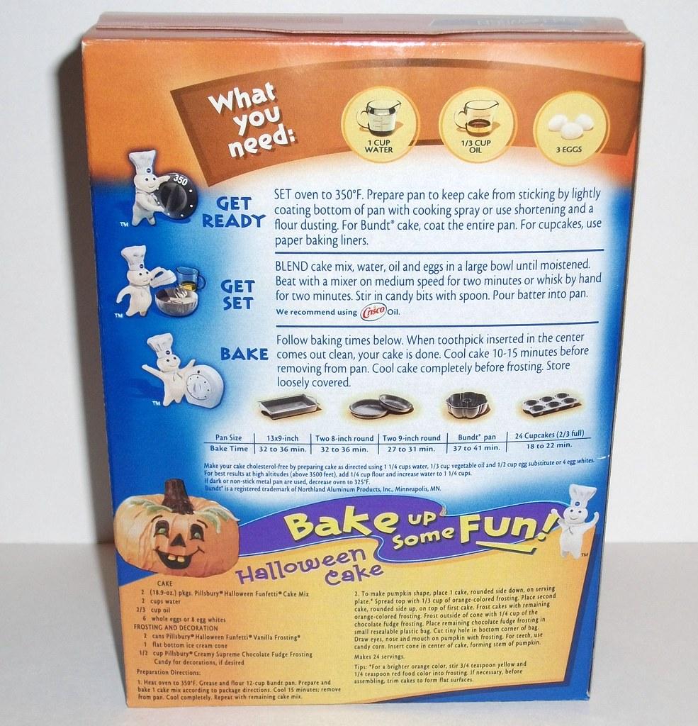 pillsbury funfetti cupcakes