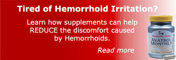hemorrhoid treatment banner by savynavy