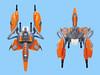 Yagiza VV (Fredoichi) Tags: fighter lego space shooter shootemup starfighter gradius cannonfodder shmup vicviper fredoichi nnovvember enemyfighter