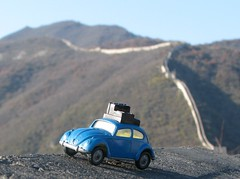 CHINA (domster_92) Tags: china wall volkswagen husky great beetle beijing 164 greatwall diecast