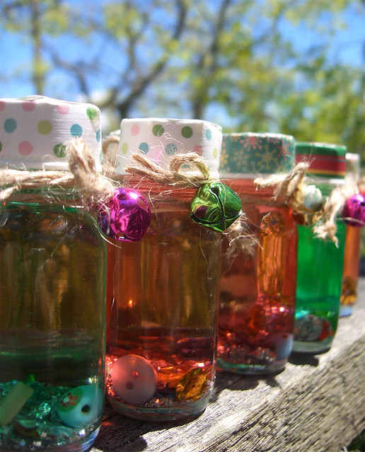 treasure bottles