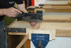 Common woodworking frame and box joints by Jordanhill School D&T Dept, on Flickr