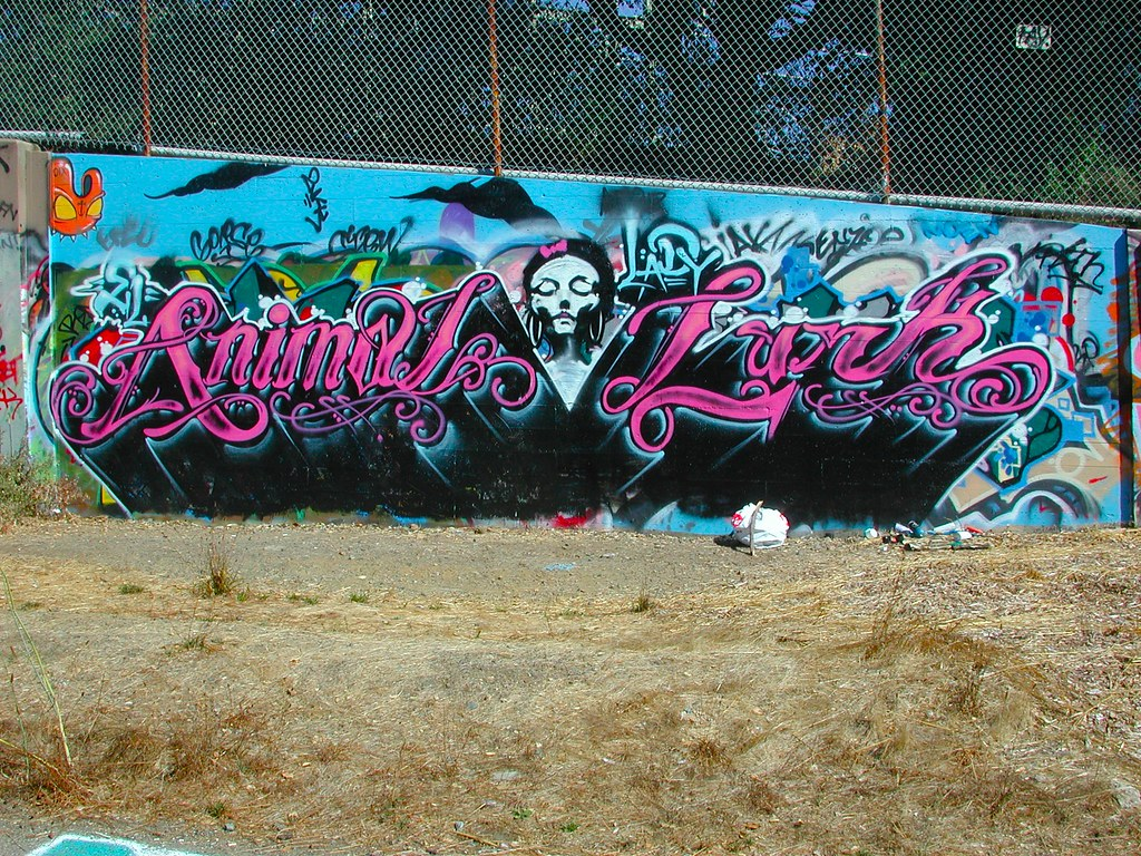 ANIMAL, LURK, Graffiti, the yard, Oakland