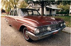 1961 Meteor Montcalm 4-door sedan (scrapmetalbin) Tags: ontario ford bc canadian vernon meteor 1961 orillia montcalm