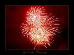 Firework (Richard Cowdrey) Tags: longexposure november red night canon painting eos kaboom explosion firework hampshire cracker burst 5th bonfirenight havant 450d 400d richardcowdrey