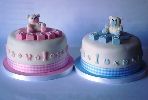 1st birthday cake designs for twins