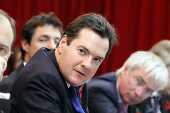 George Osborne in Beijing