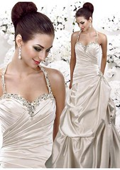 Satin wedding dress 1 (Sabrina Satin1) Tags: feminine bridal satin crossdresser effeminate ballgown bridalfantasy crossdressingfantasy