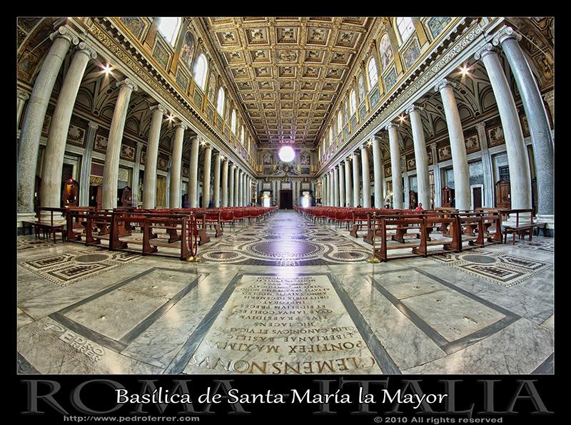 Roma - Basílica di Santa María Maggiore