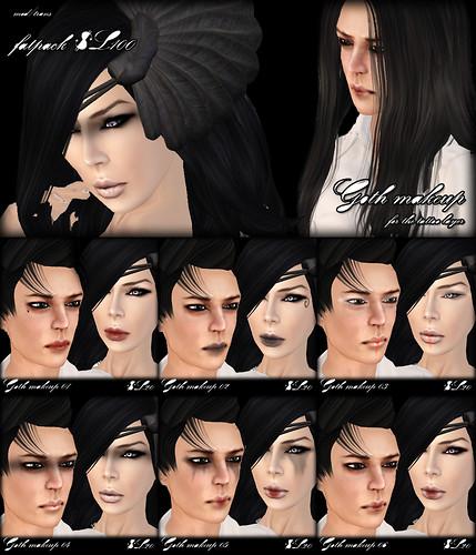 A:S:S - Goth makeup