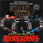 Vice City Cypher : StreetWars 6 Mixtape Cover
