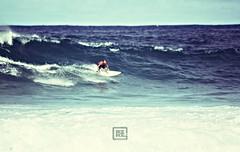 Breaking Left 3 (Dezign Horizon) Tags: ocean water hawaii surf waves oahu surfer digitalart surfing surfboard windward postprocessing surfphotography pyramidrock