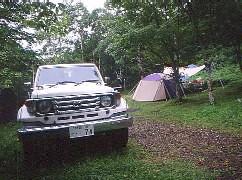 八千穂高原、駒出池キャンプ場