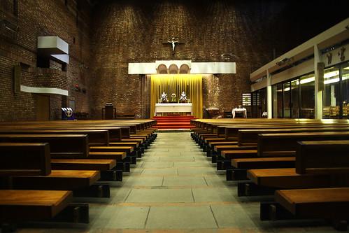 St Brides - interior